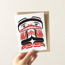 Load image into Gallery viewer, Kushtaka Greeting Card