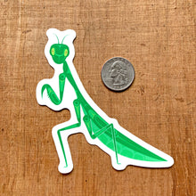 Load image into Gallery viewer, Praying Mantis Vinyl Sticker