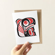 Load image into Gallery viewer, Sockeye Salmon Greeting Card