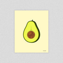 Load image into Gallery viewer, Avocado Art Print