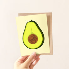 Load image into Gallery viewer, Avocado Greeting Card