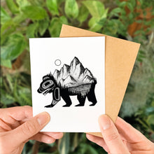 Load image into Gallery viewer, Black Bear Greeting Card