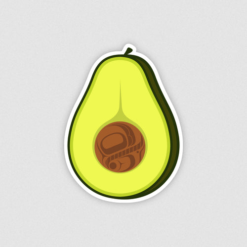 Avocado Vinyl Sticker
