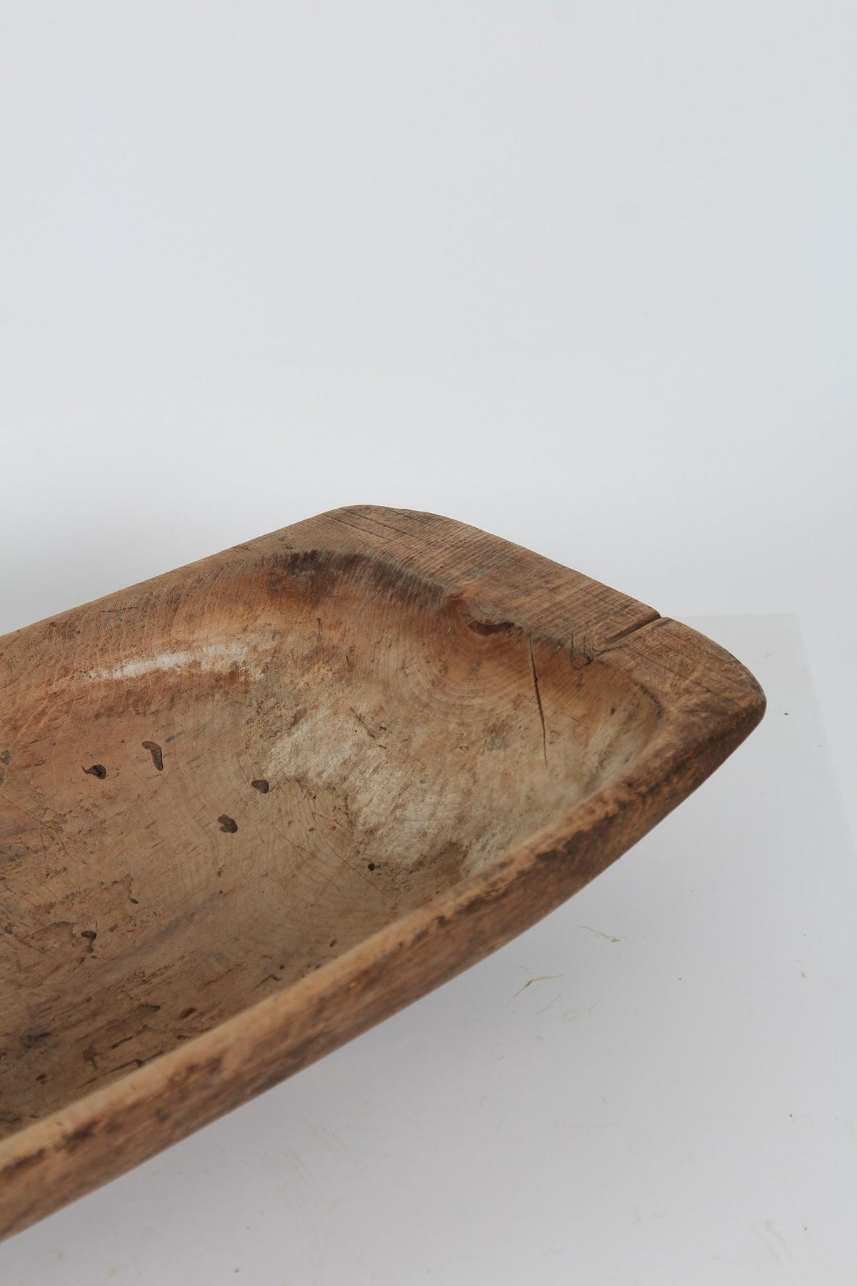 Original Swedish 19thC  Wooden Trough Dated 1848