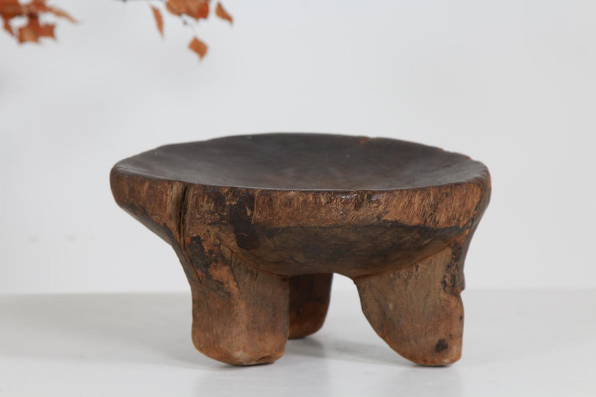 PRIMITIVE Wabi-Sabi TRIBAL HE HE STOOL