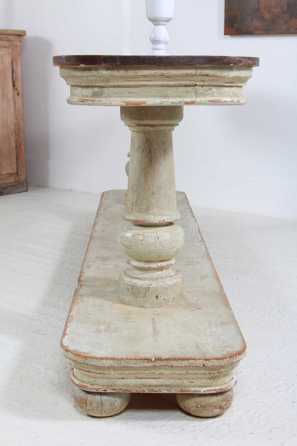Outstanding 19thC Italian Grand Scale Console Table