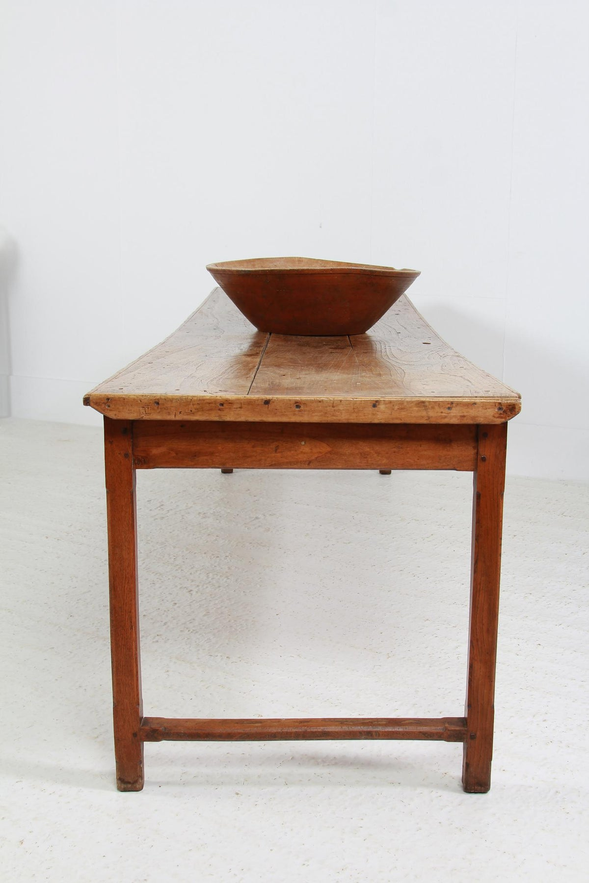 Handsome French 19thC Provincial Elm Server/Console