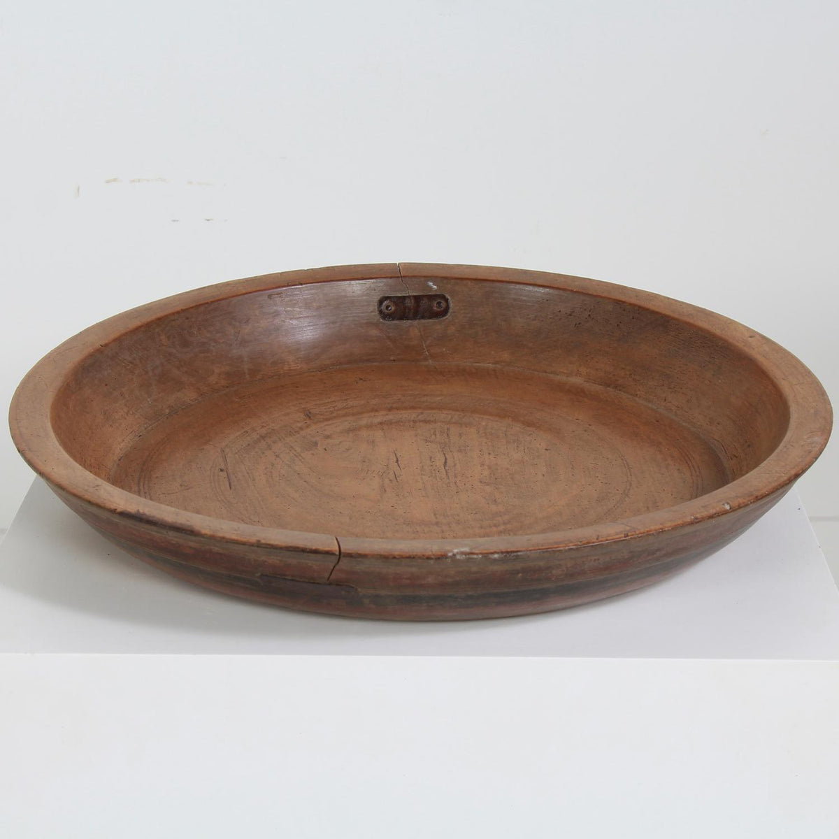 A Fine ExcepAtionally Large Indian 19thC Food Platter