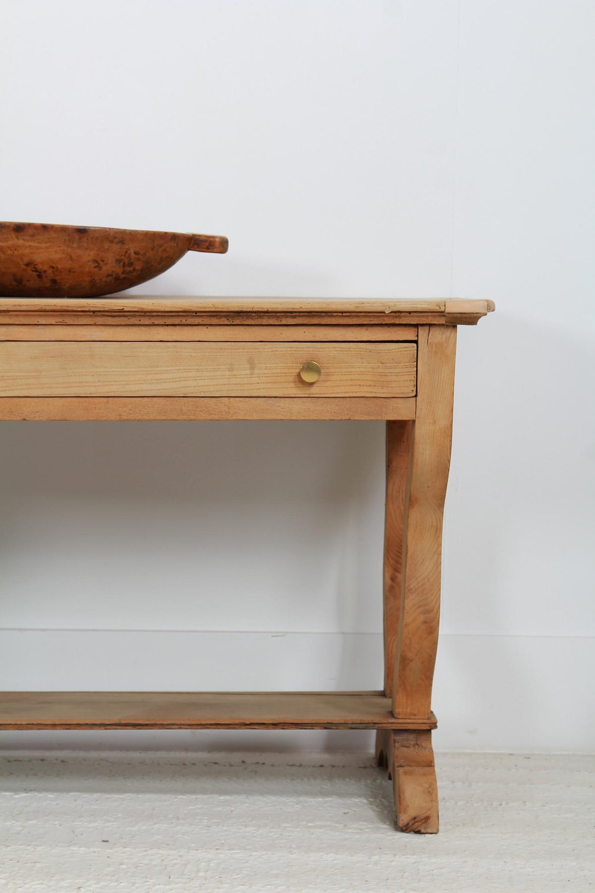 Picture of: Antique French Bleached Oak Serving Console Table Anton And K