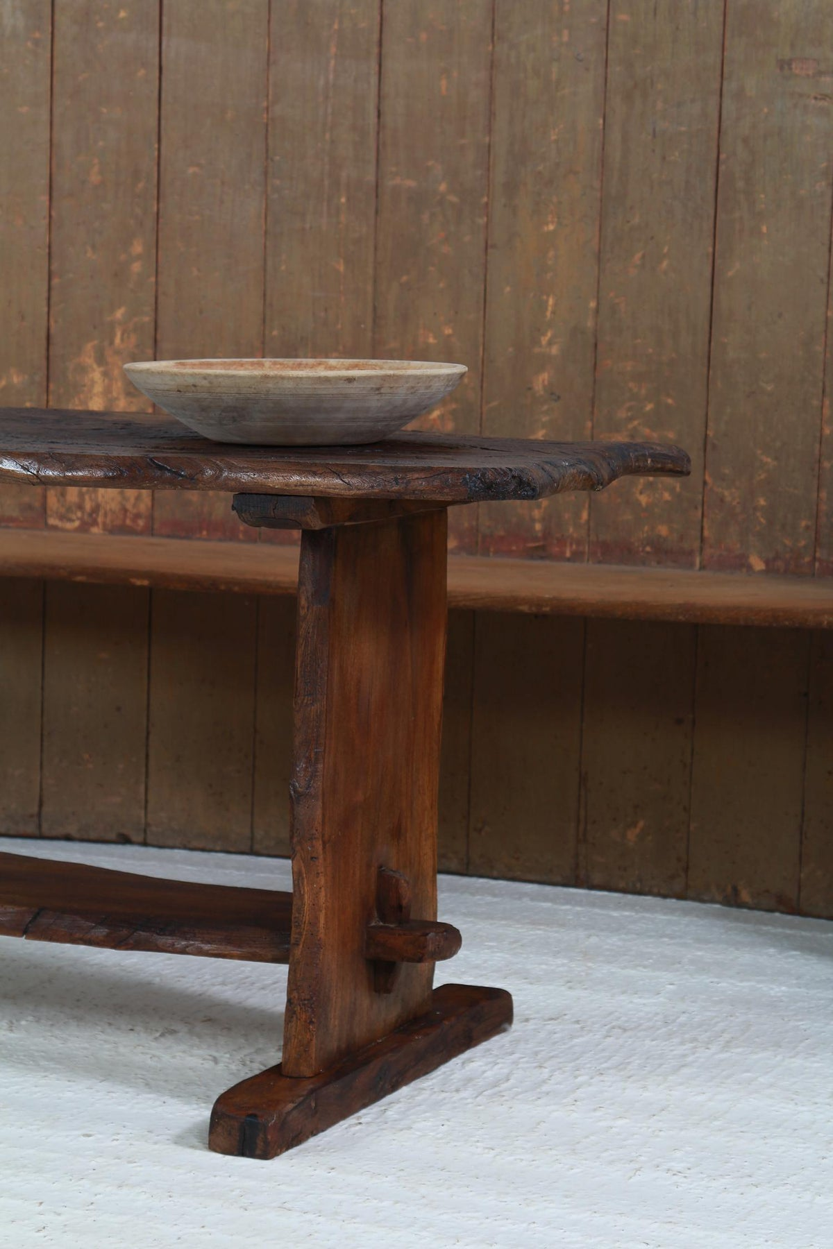 Rustic Country Elm English Tavern Table