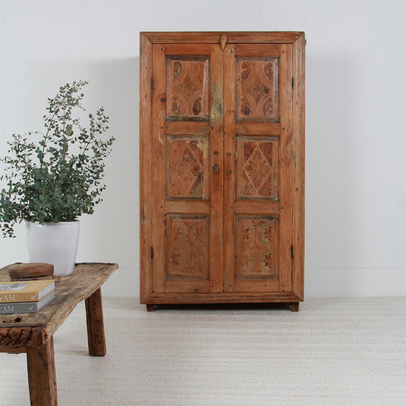 Beautiful & Enchanting Primitive Food/Larder Cupboard