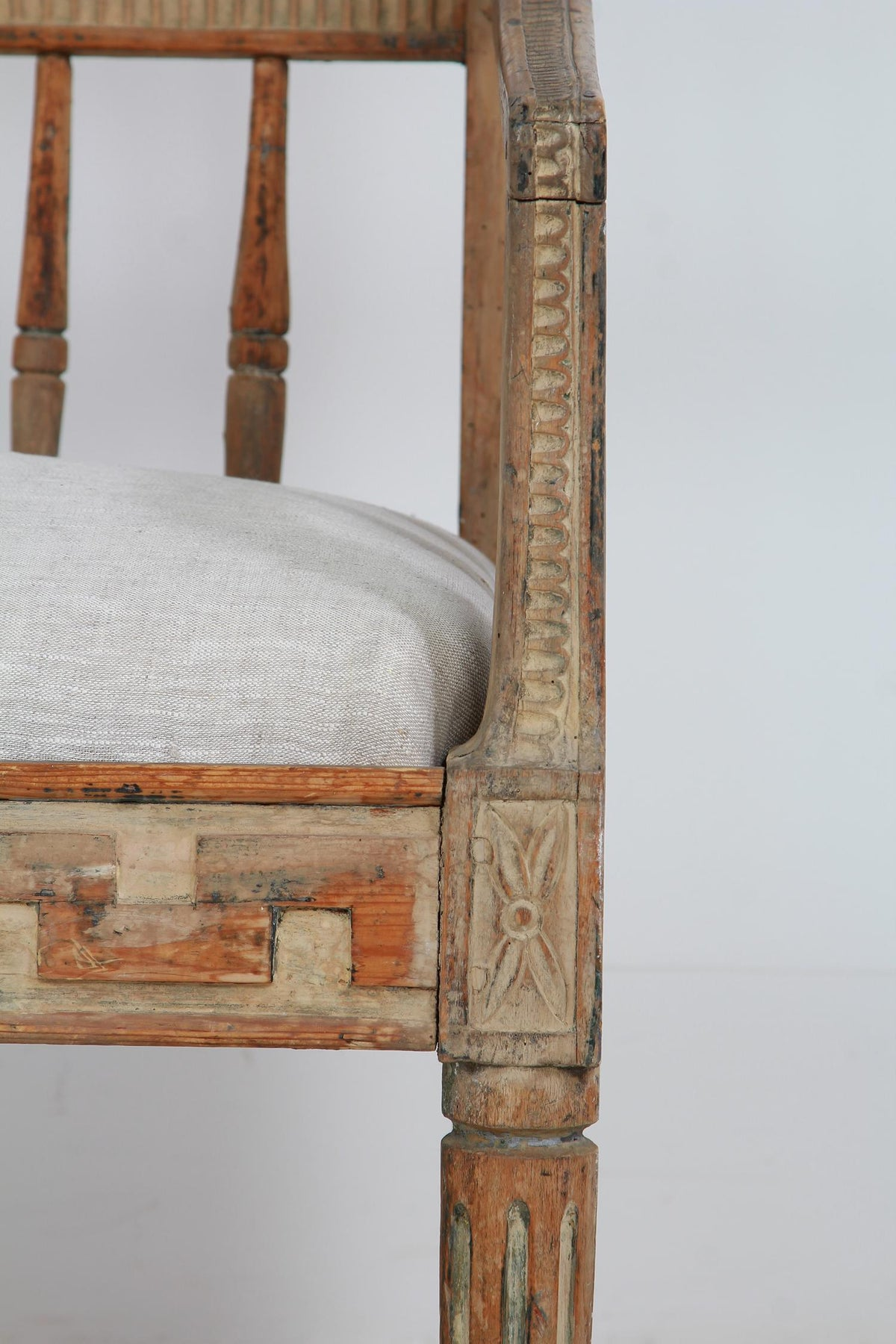 Classical Period Swedish 18thC  Gustavian Sofa