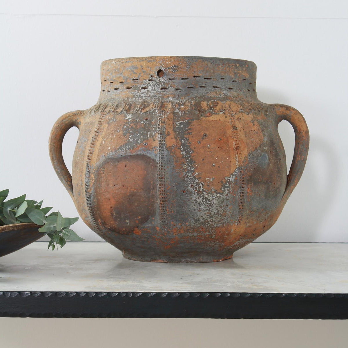 Beautiful Late 19th Century Primitive French Terracotta Pot