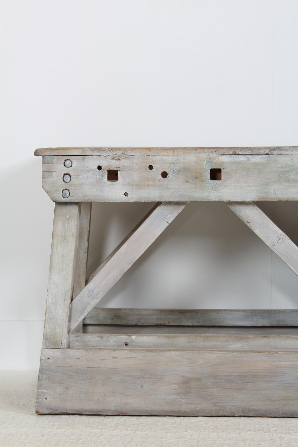 Magnificent French 19th Century Atelier Console Table