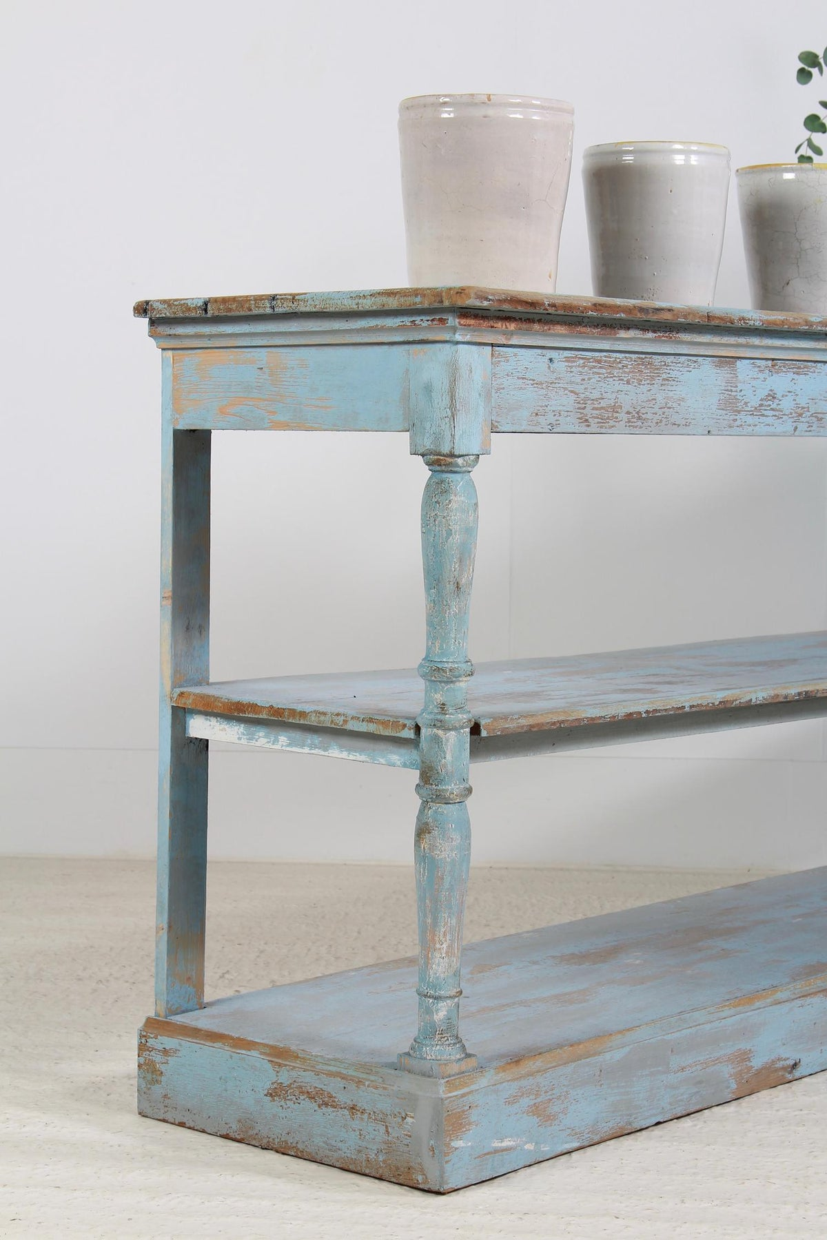 French 19th Century Draper Console Table