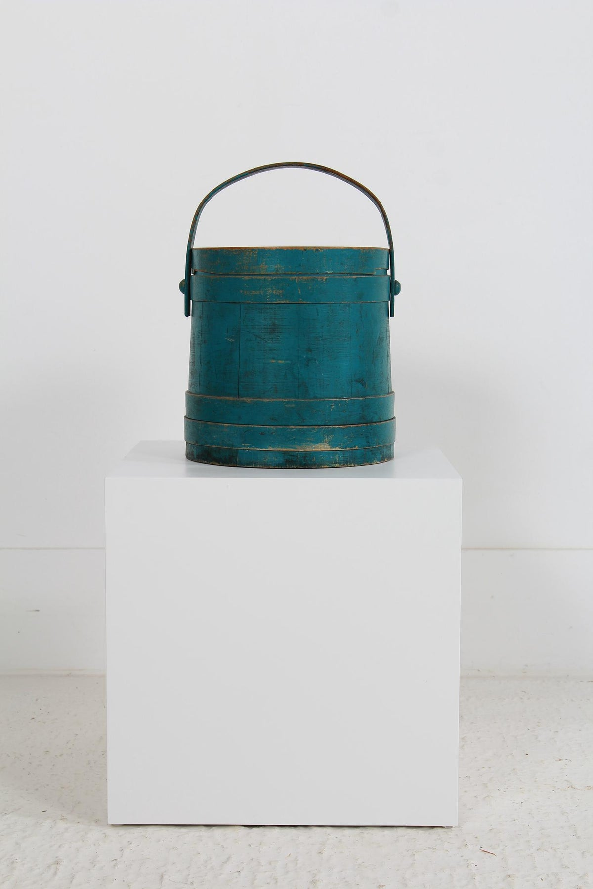 Large Late 19th Century Swedish Storage Box