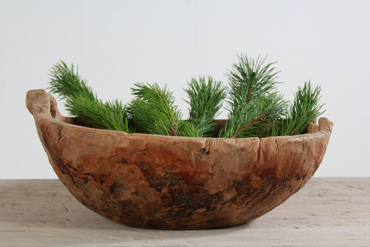 Early 19thCentury Swedish Root Bowl