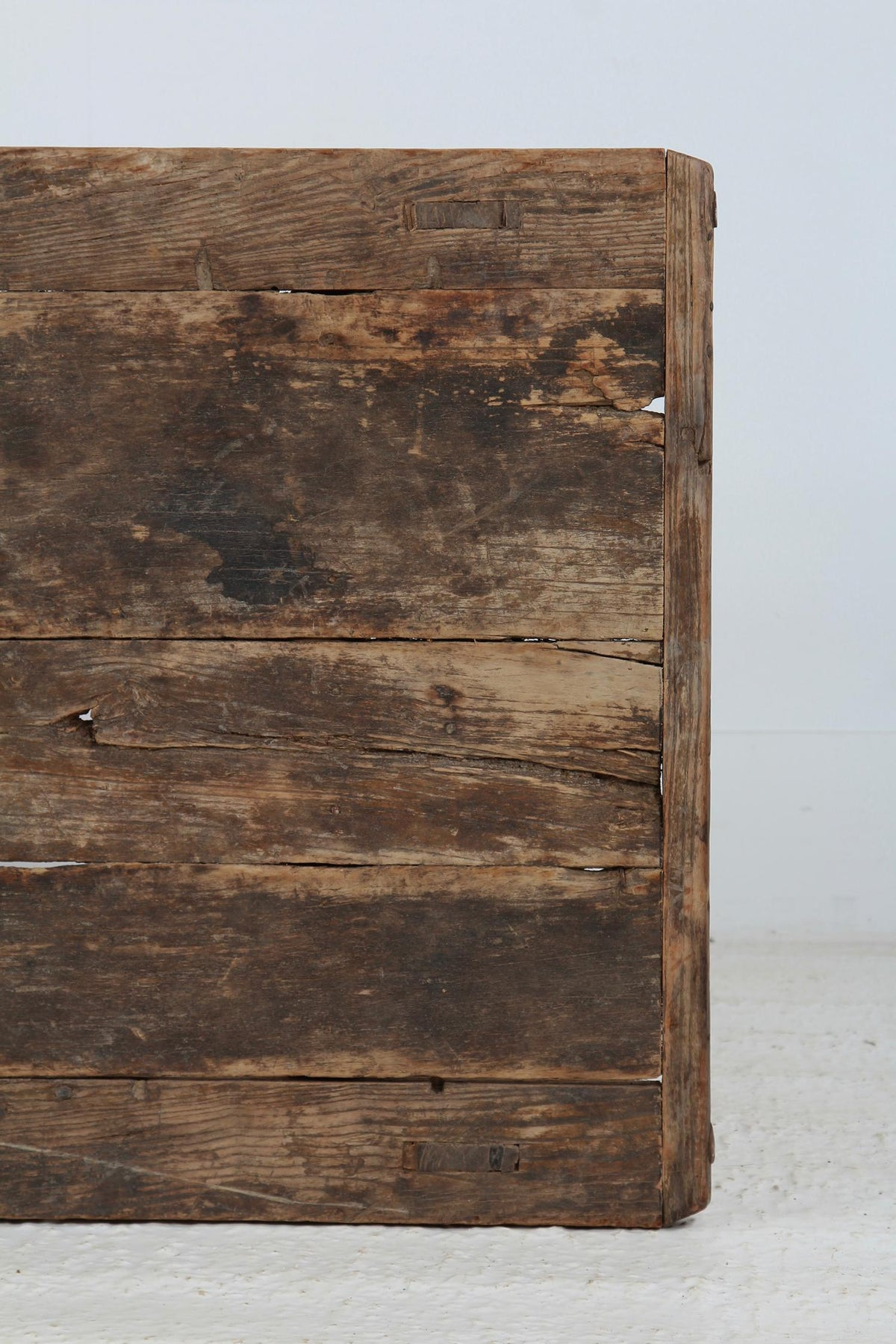 Antique Weathered Rustic  Wooden Coffee Table