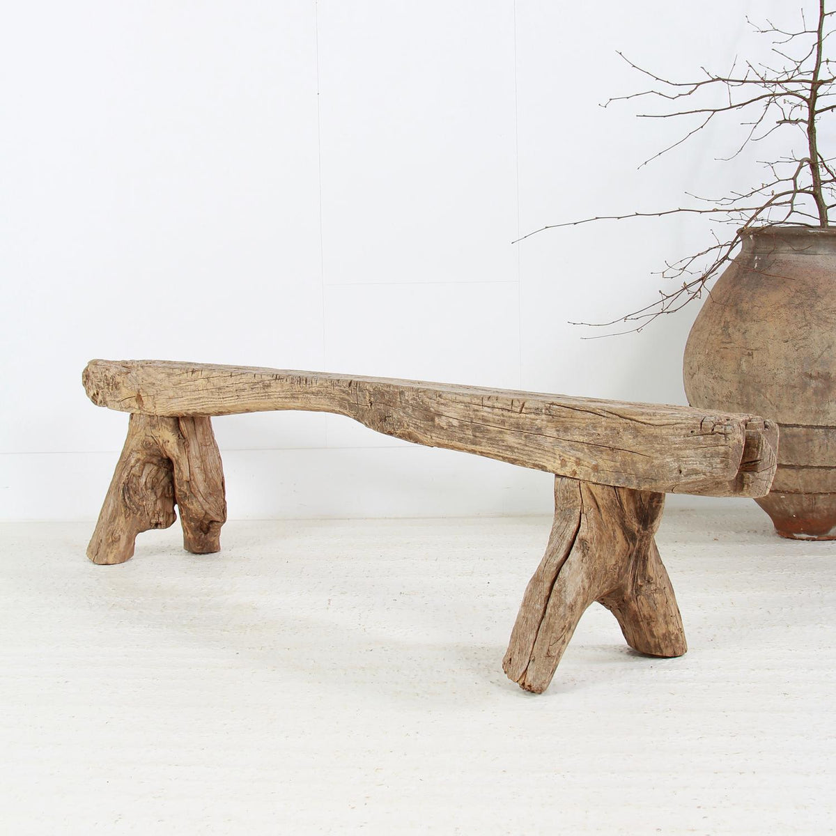 Wonderful & Gnarly Wabi-Sabi Root Bench