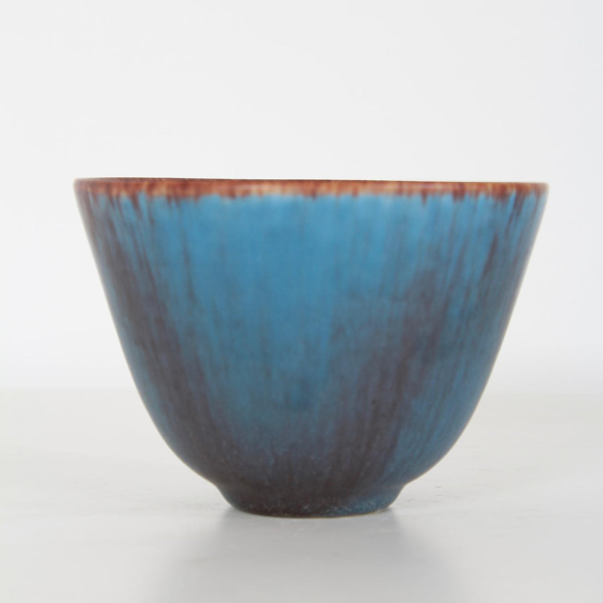 Swedish Designer Gunnar Nylund  Ceramic Powder Blue Bowl