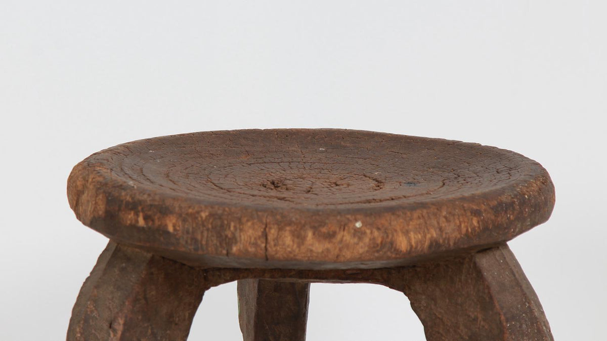 Primitive Early 20th Century Tribal Hehe Stool