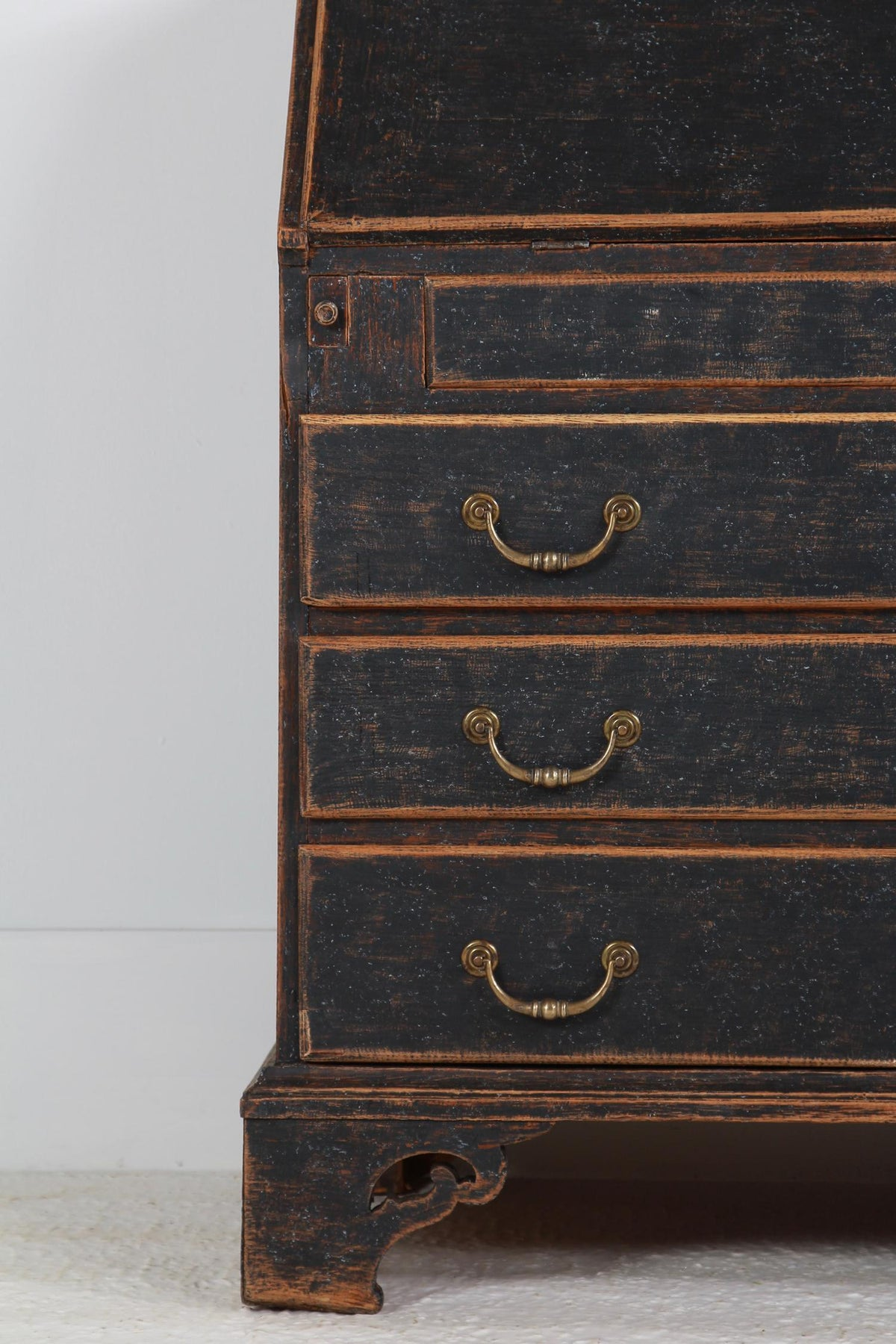 Period Swedish 18thC Baroque Bureau/Secretaire