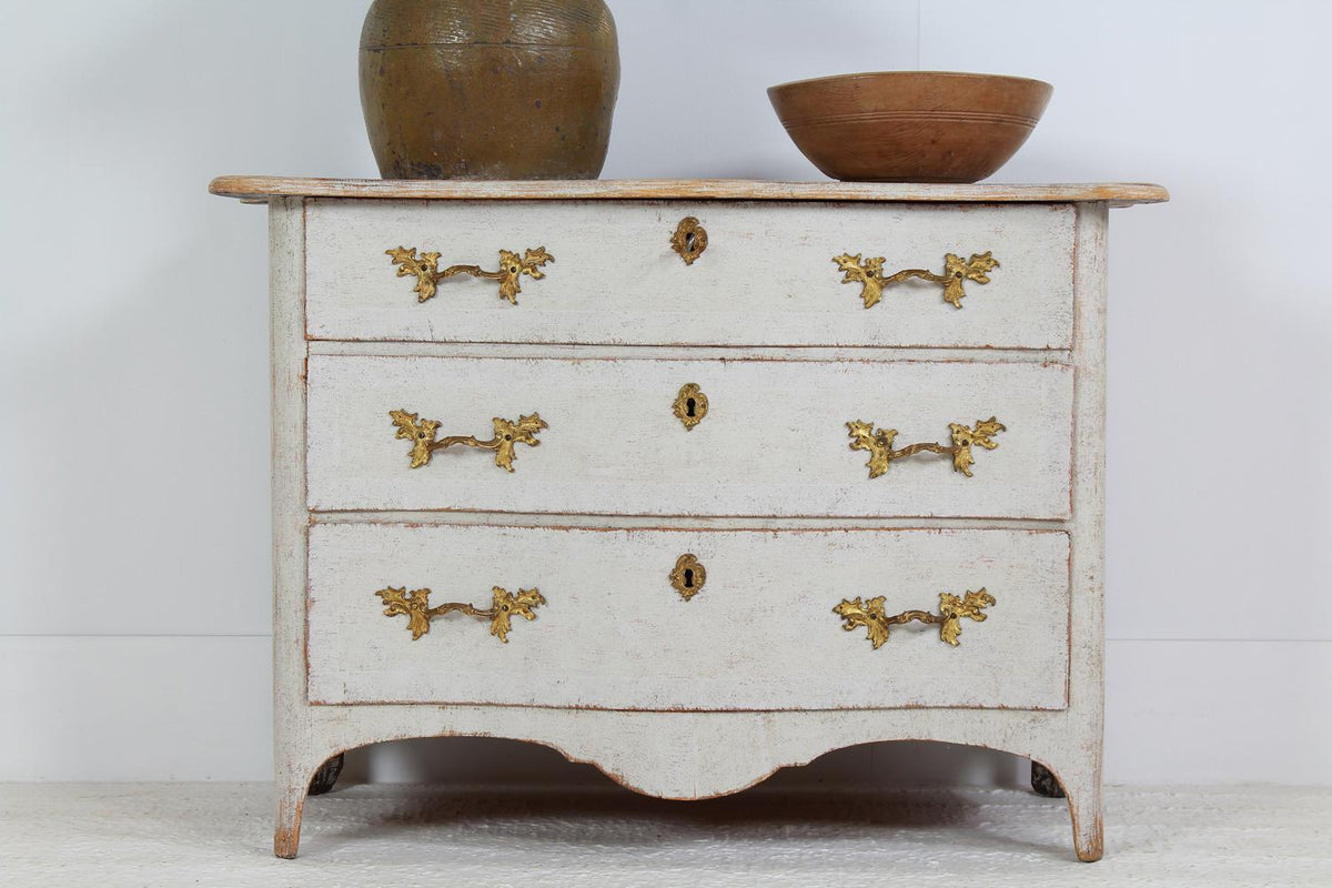 Superb Swedish 18th Century Rococo Commode