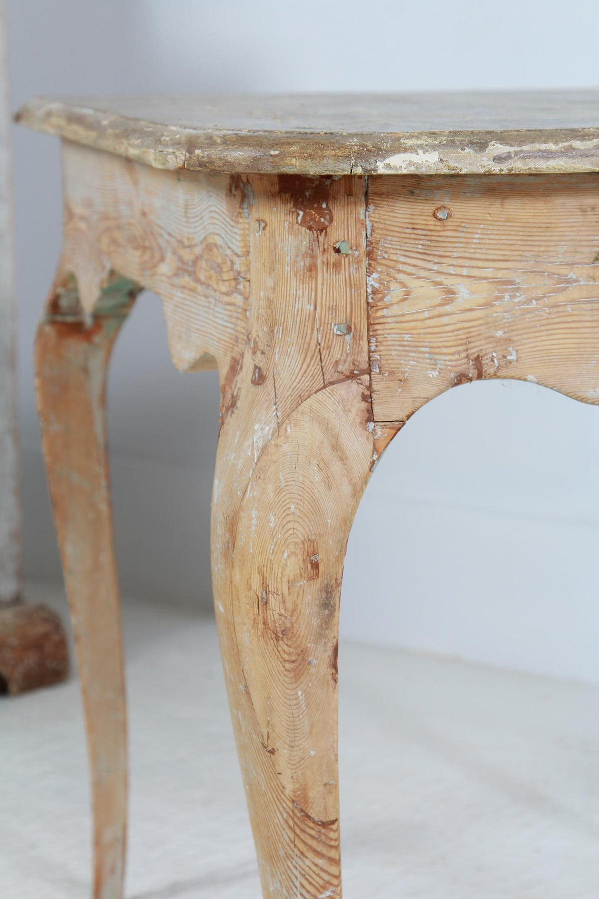 Late 18th Century Swedish Rococo Side/Lamp Table
