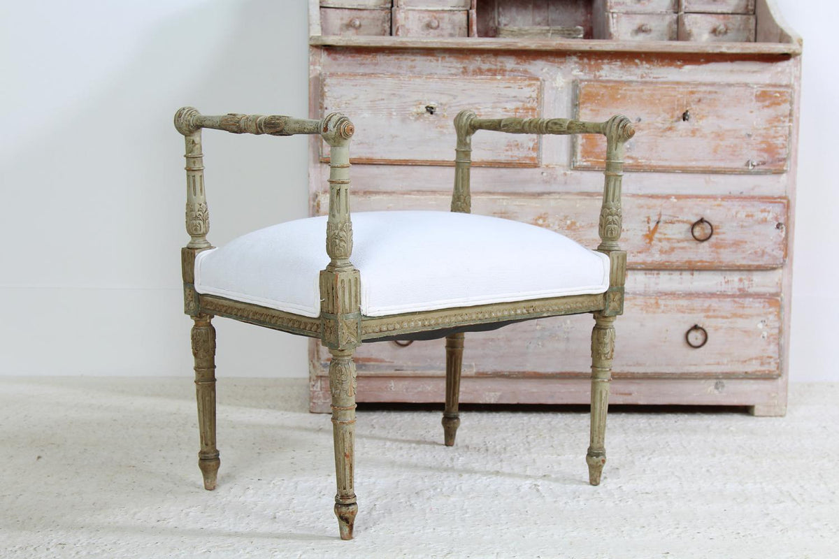 French early 19thC Louis XV1 Style Footstool