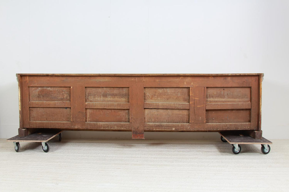 Outstanding French 19thC  Bank of Drawers