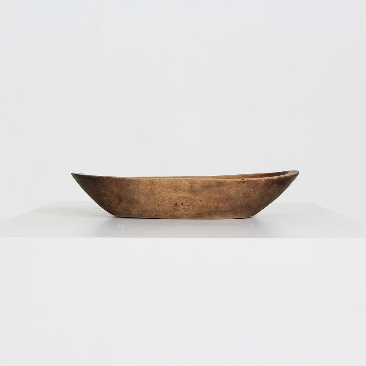 Unique 18thC  Wooden Root  Bowl from Northern Sweden Dated 1798