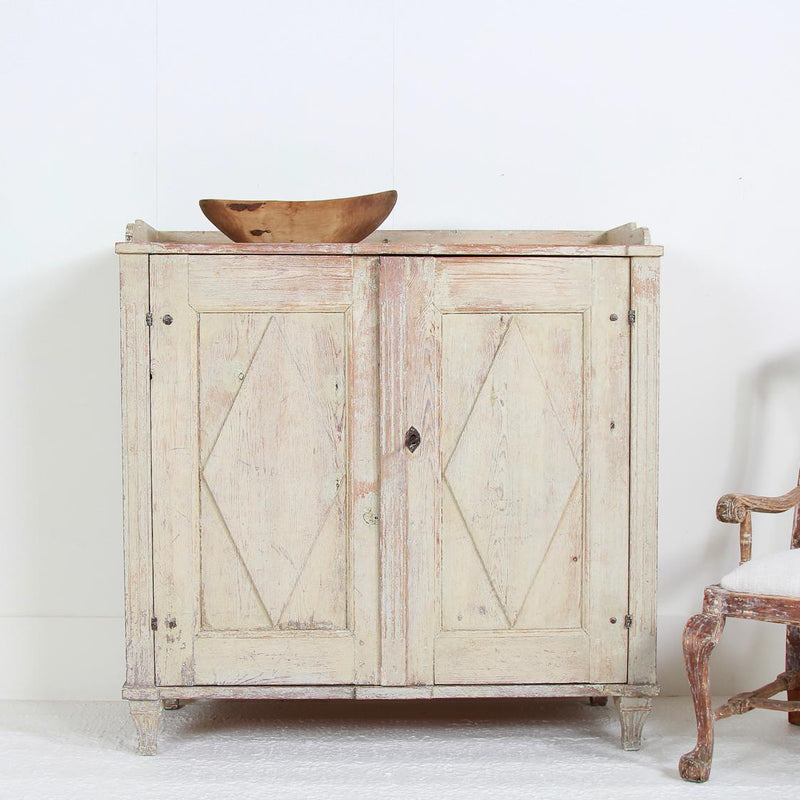 Swedish Period Gustavian Sideboard in Original Paint
