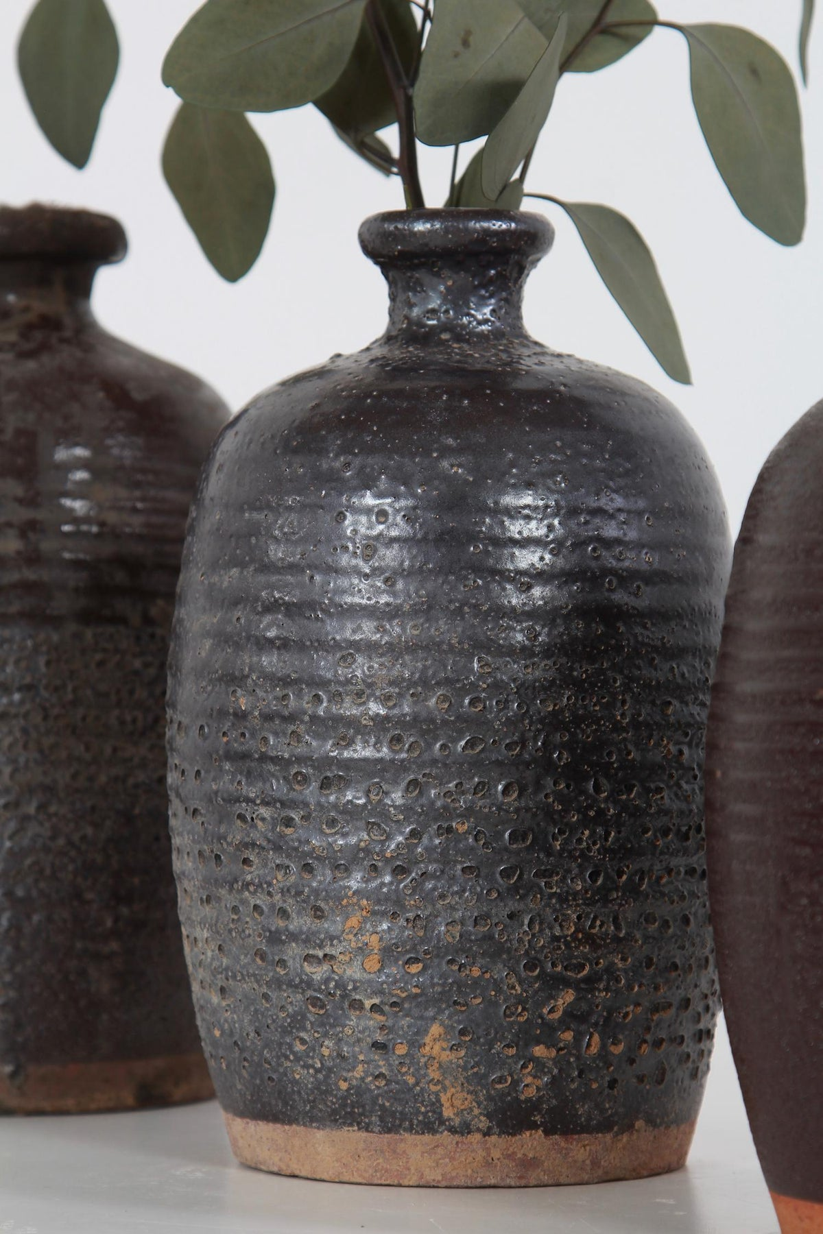 Collection of Early 20th Century Chinese Apothecary Oil Jars