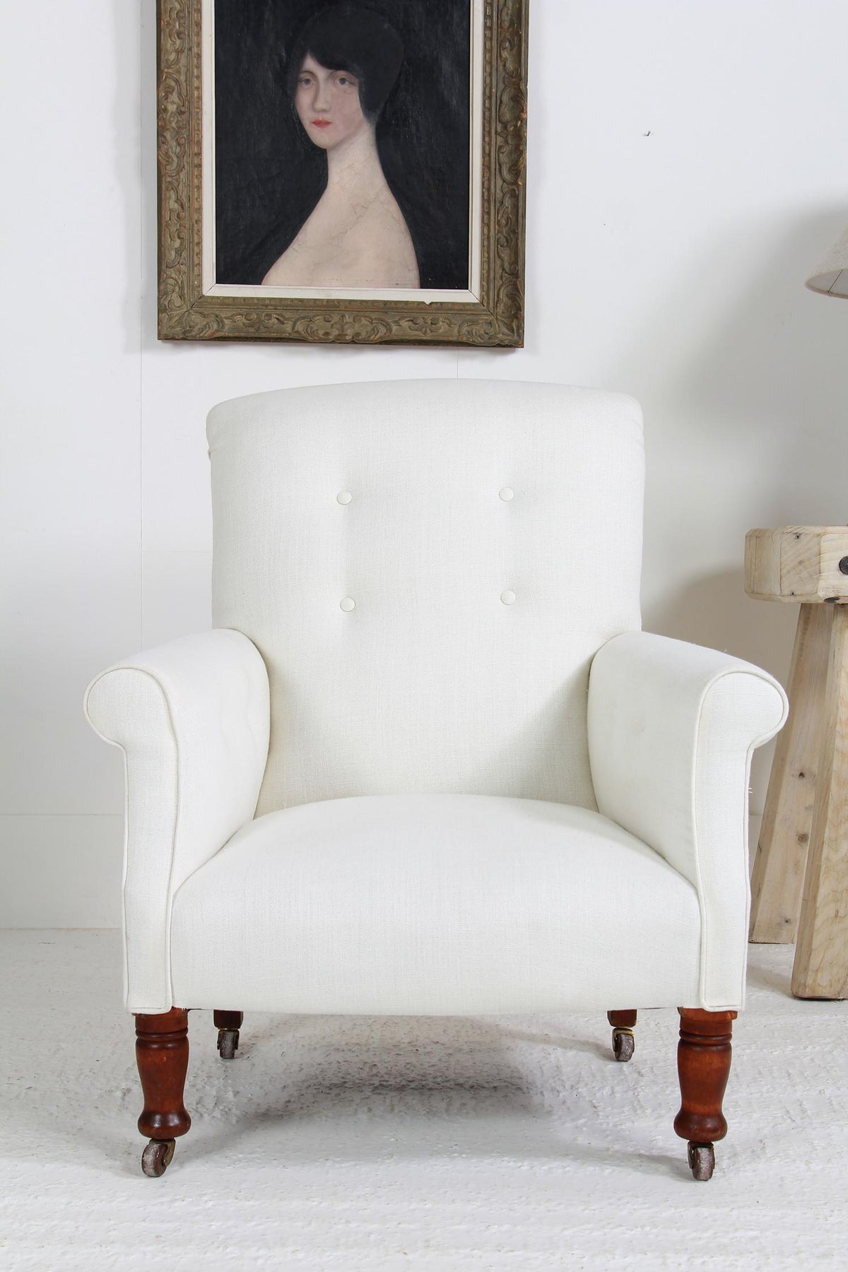 English 19thC Country House Armchair