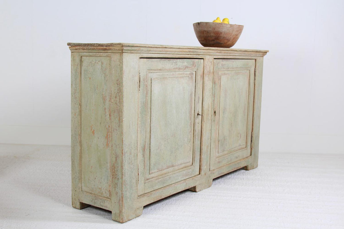 Grand Scale Italian 19th Century Painted Buffet