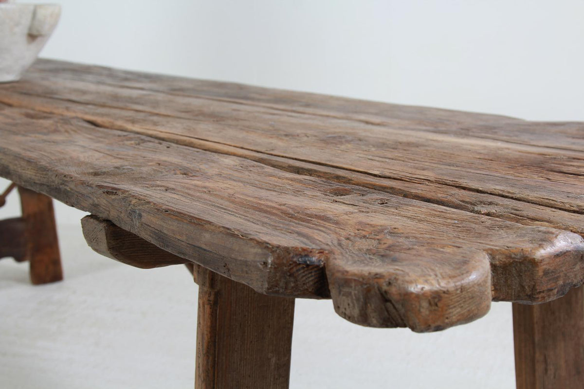 Enormous 18thC sPANISH  Primitive Monastery Table