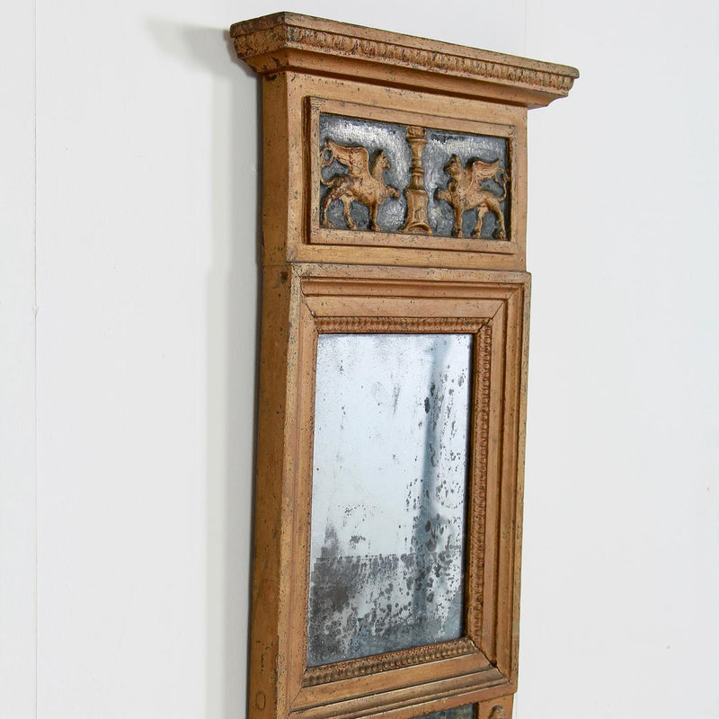 Charming Early 19thC Swedish Gustavian Mirror
