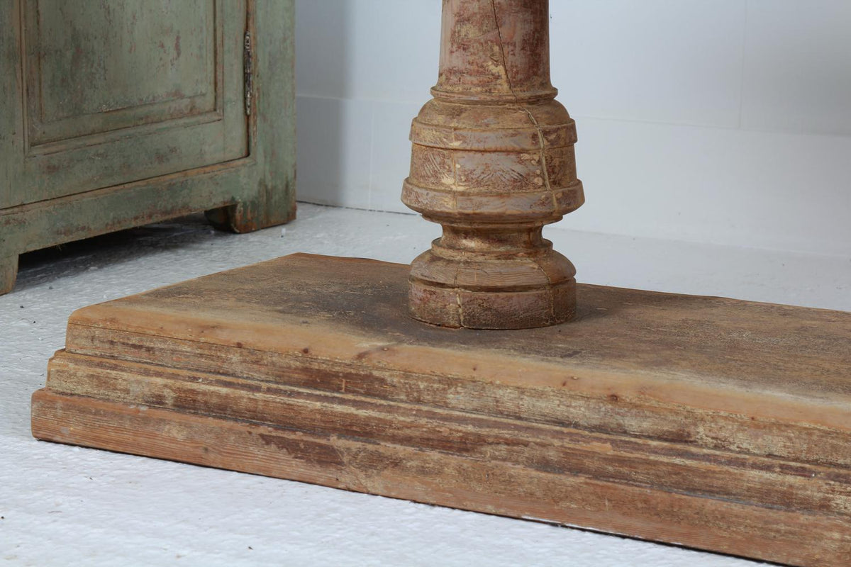 Pair of Grand Scale Spanish 19thC Console Table