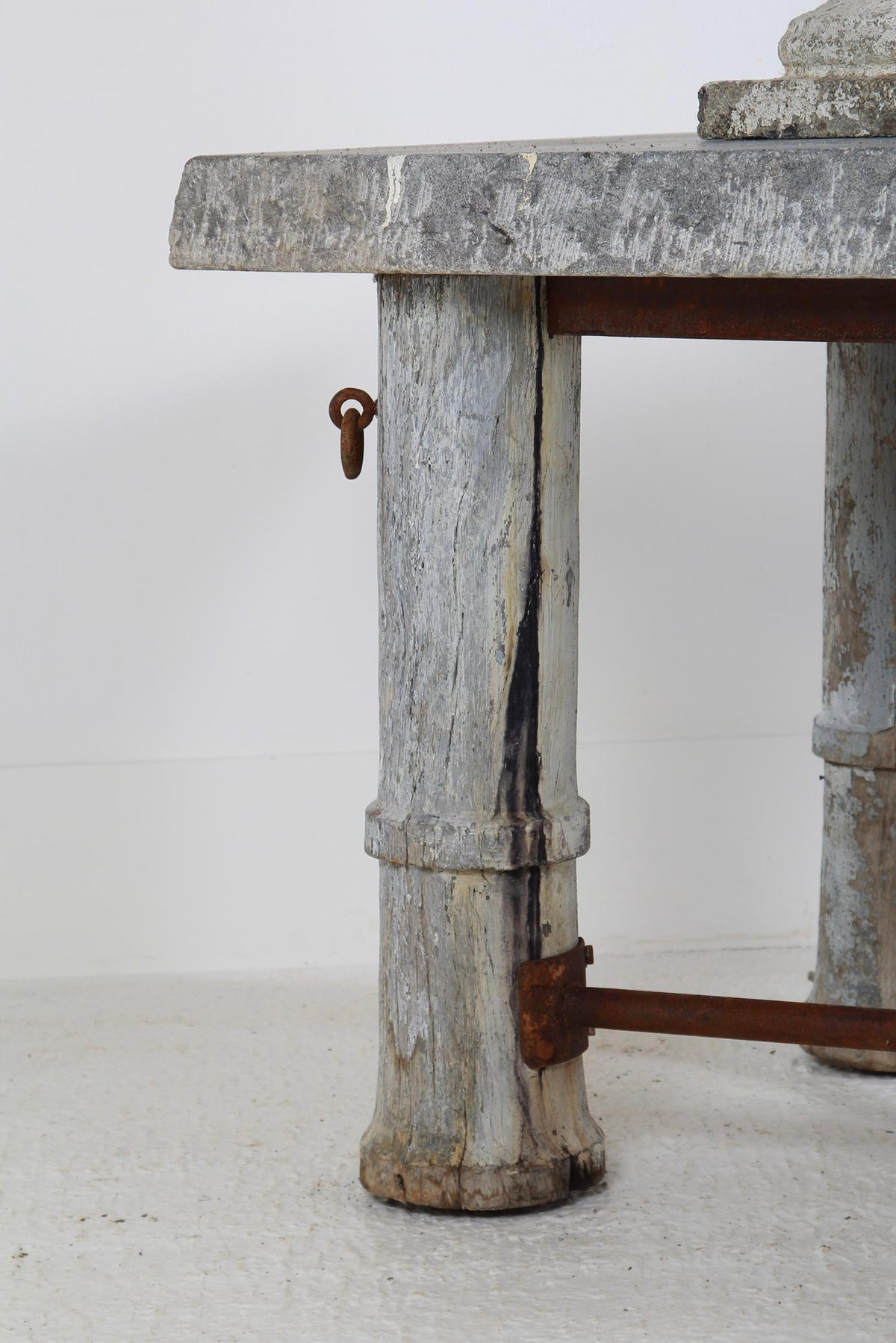 Magnificent French 19thC Stone Chocolateire Table