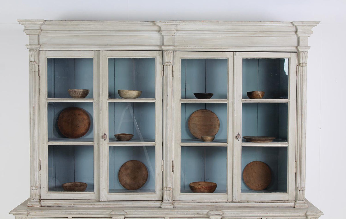 Outstanding & Exceptional French 19thC Provencal  Bibliotheque