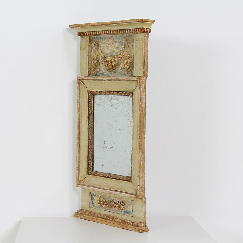Early 18th Century Swedish Neo-Classical Trumeau  Mirror