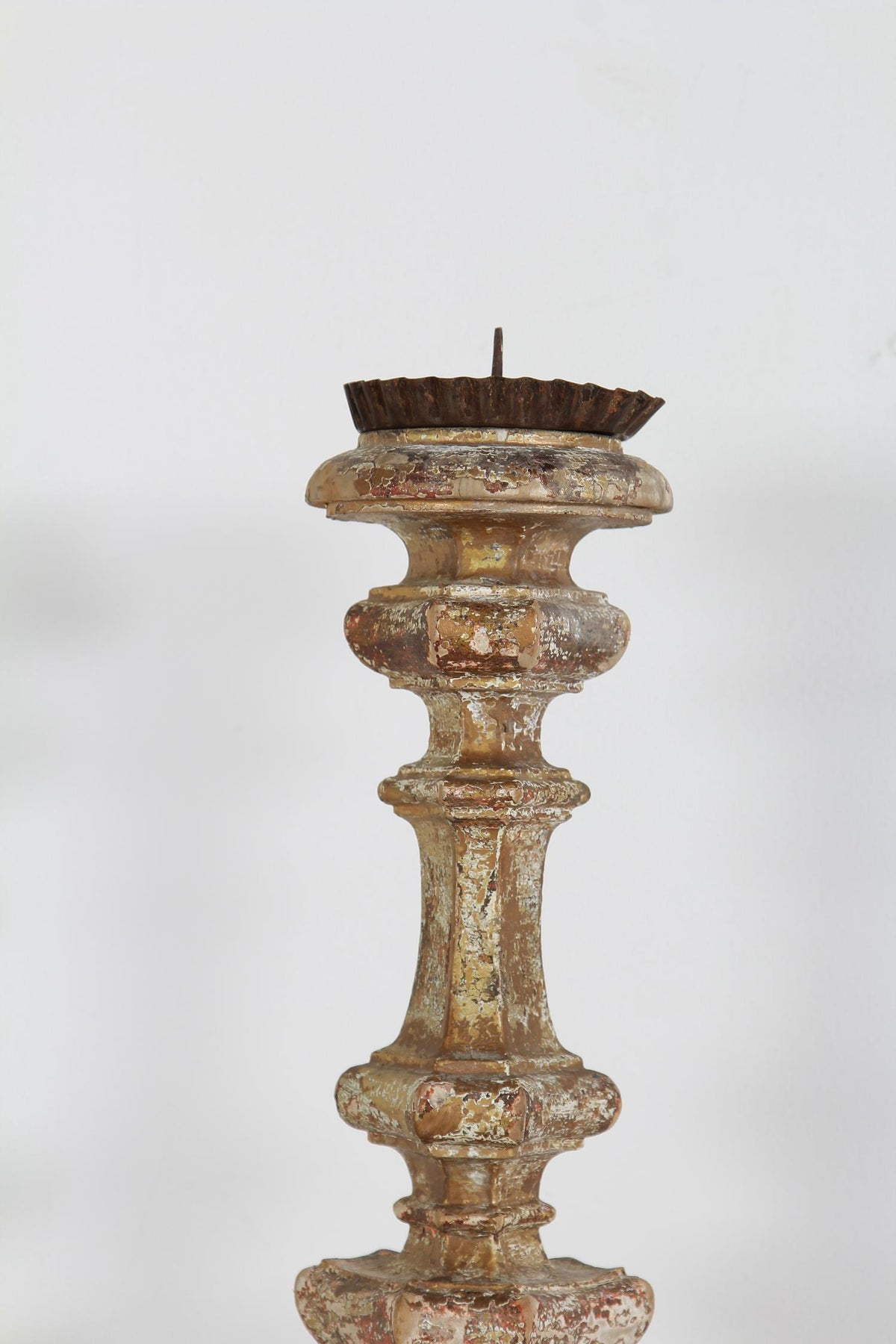 Beautiful Italian 18thC Pricket Candelstick