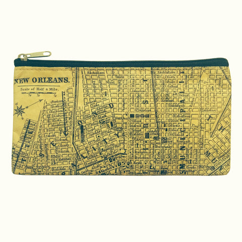 Tyvek ZIP Bag - NOLA MAP