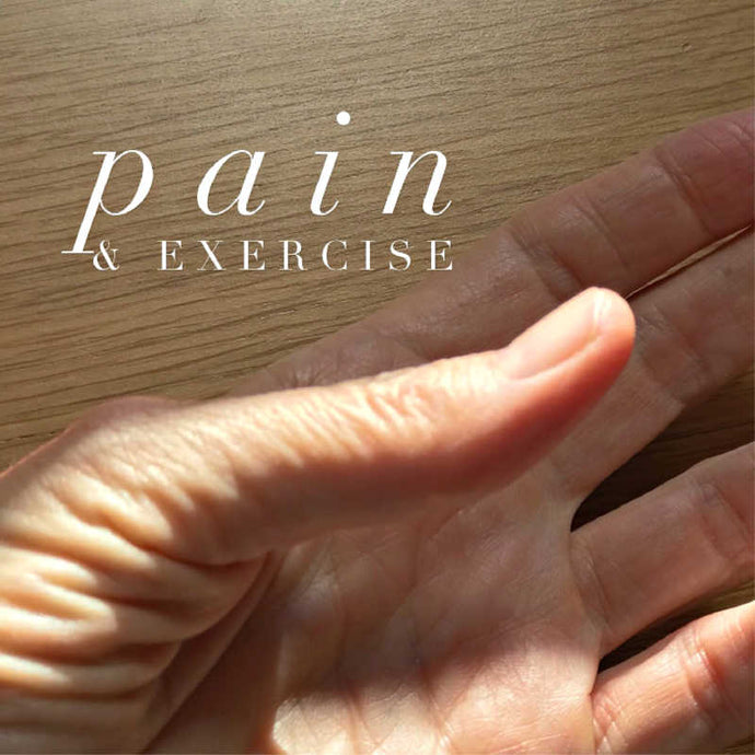 Pain in Thumbs & the Exercise Approach