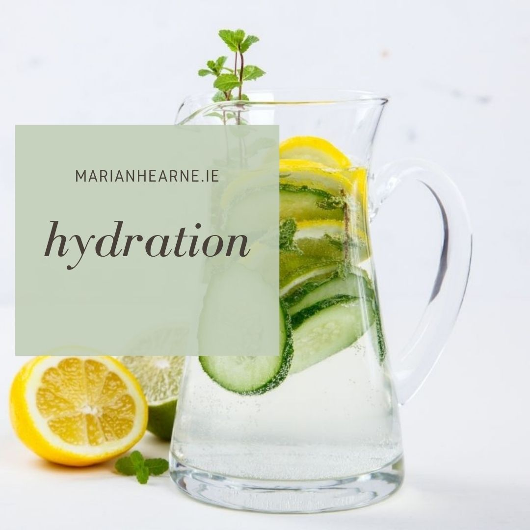 Hydrating yourself is important for health