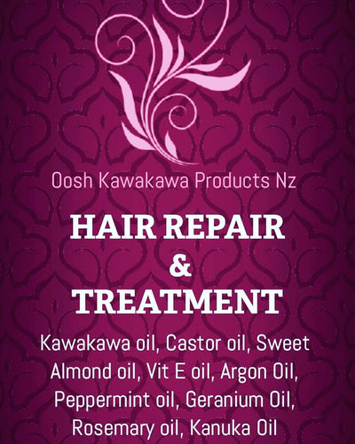 Kawakawa hair repair and treatment
