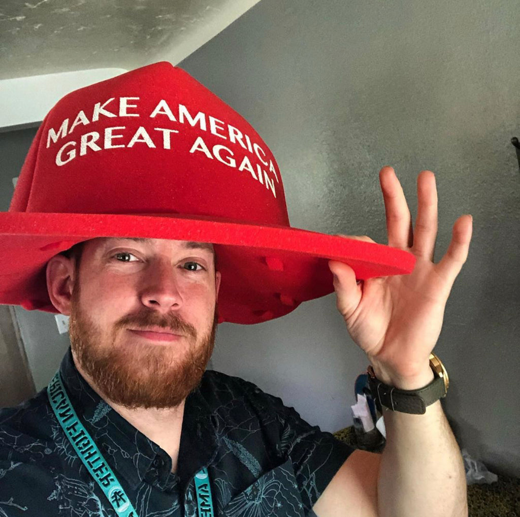 Where's Your Make America Great Again Hat