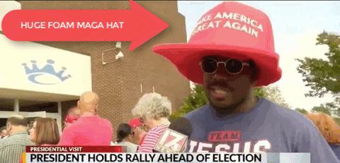 Bryson Gray Huge MAGA Hat