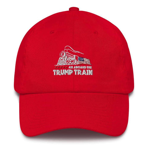 All Aboard The Trump Train Hat-Trump Rack