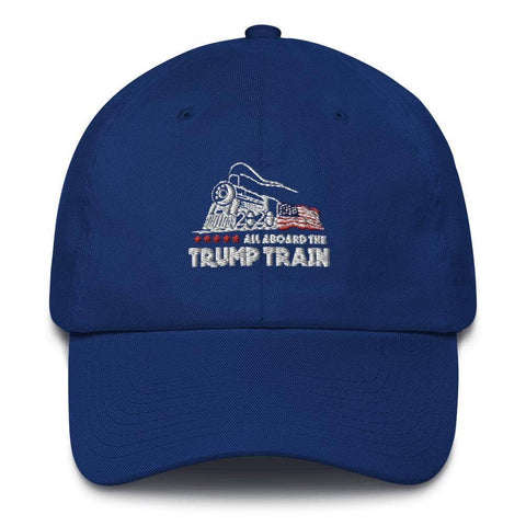 Image of All Aboard The Trump Train Hat-Trump Rack